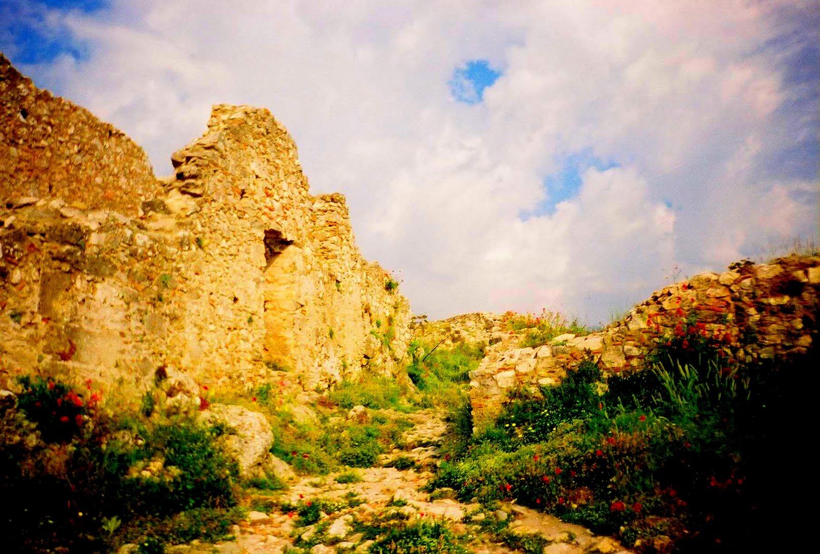 Ruine din Mystras, Grecia