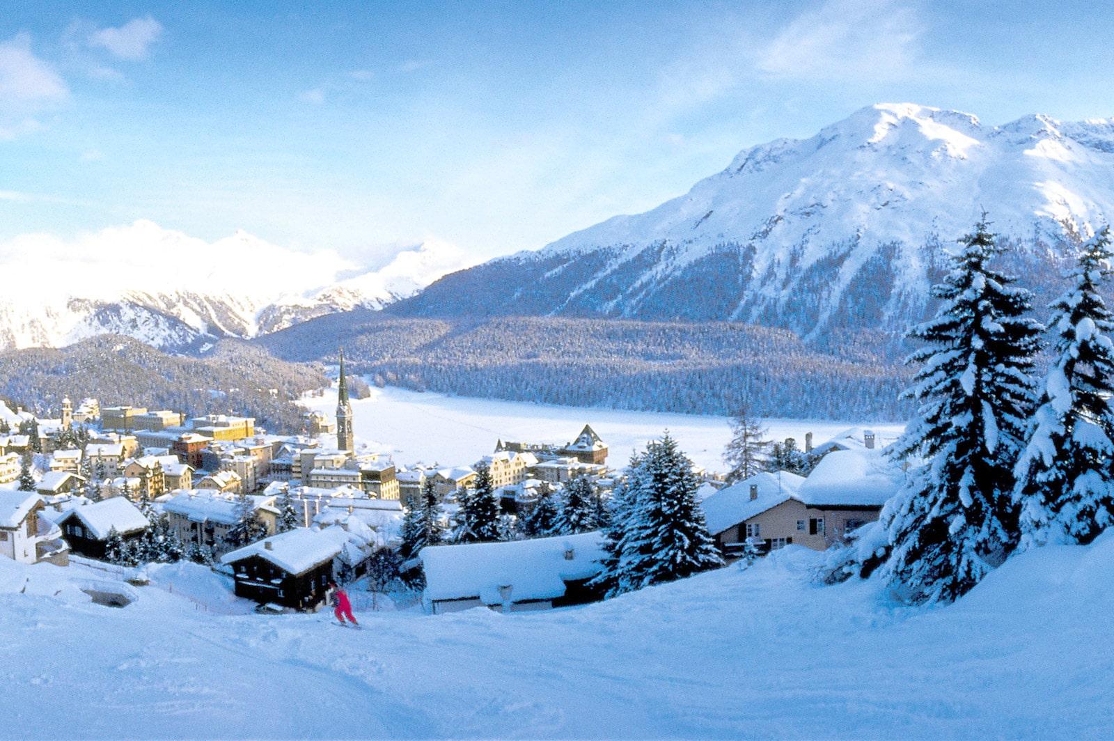 Saint Moritz, Elveția