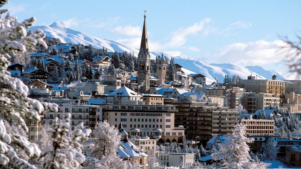 Saint Moritz, una dintre cele mai frumoase stațiuni montane din lume