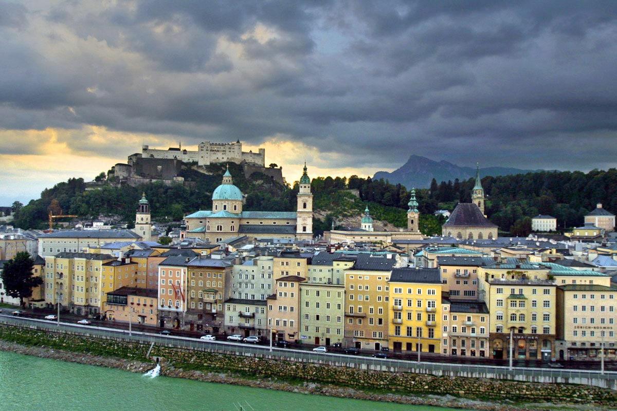 Altstad, Centrul Oraşului Vechi Salzburg