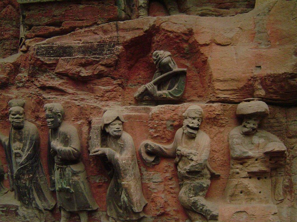 Sculpturile Dazu au valoare incontestabilă în istoria Chinei