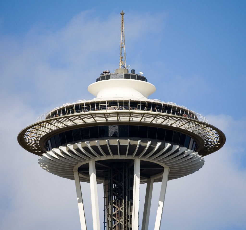 Seattle Space Needle - restaurantul și platforma de observație