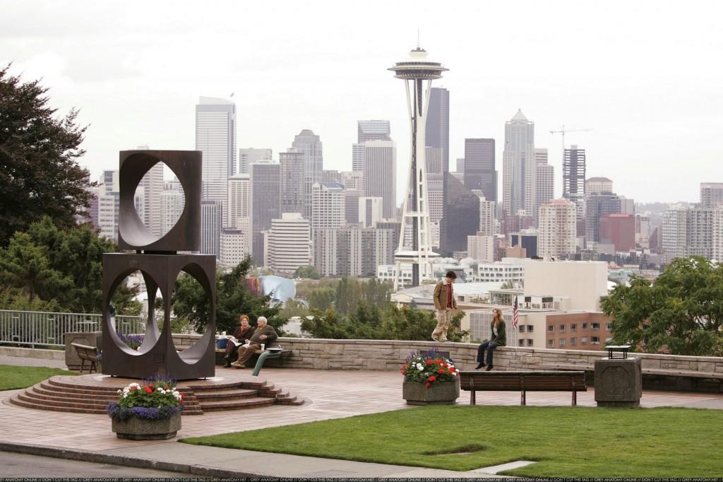 Spațiu verde în centrul orașului și bonus două personaje din Grey's Anatomy