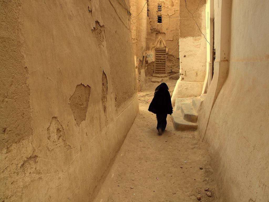 Street of Shibam, Yemen