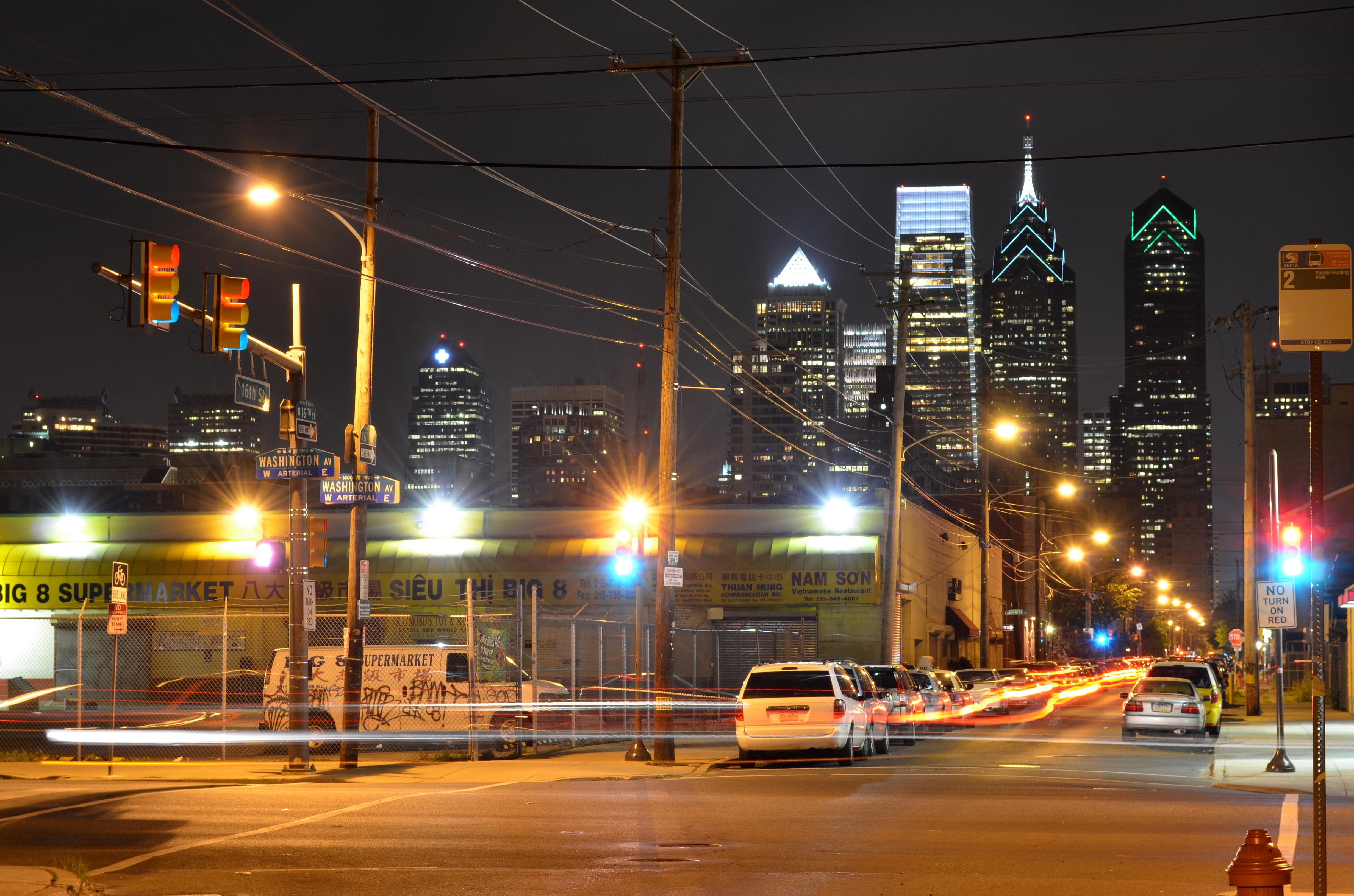 Suburbiile din Philadelphia nu prea au un aer istoric dar oricum arată mai bine decât multe cartiere de la noi