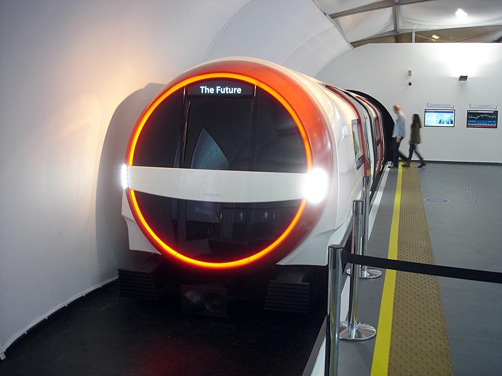 The Future, propunerea Siemens pentru viitoarele garnituri din London Underground