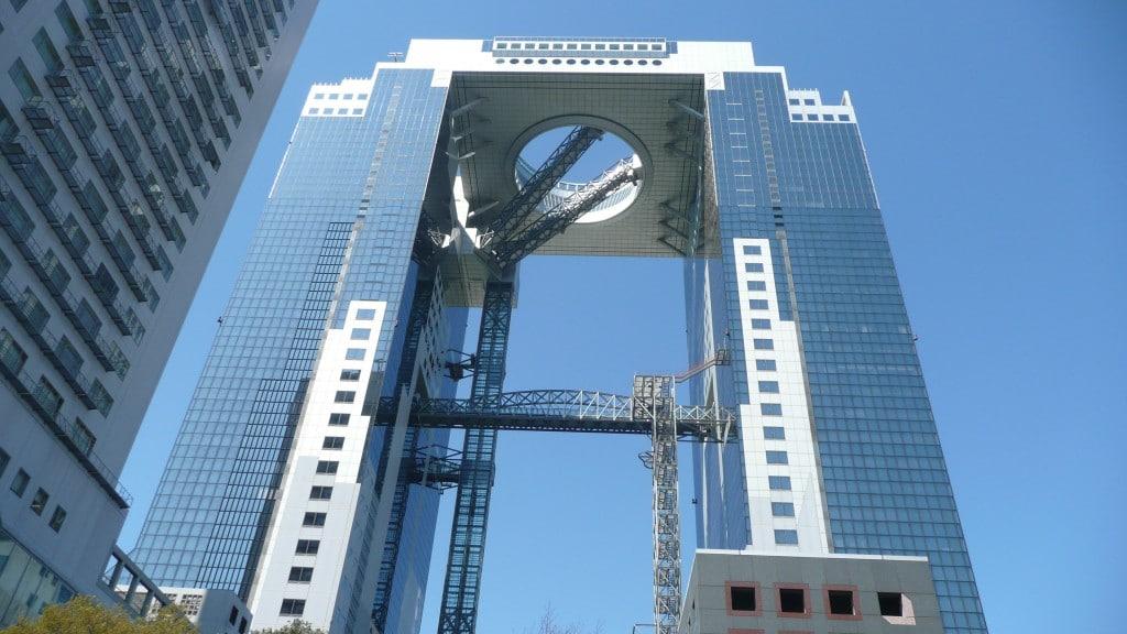 Umeda Sky Building, o clădire neobișnuită