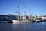 Una dintre vechile nave ce se mai păstrează în portul Bristol