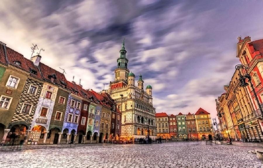 Orașul Poznan, Polonia