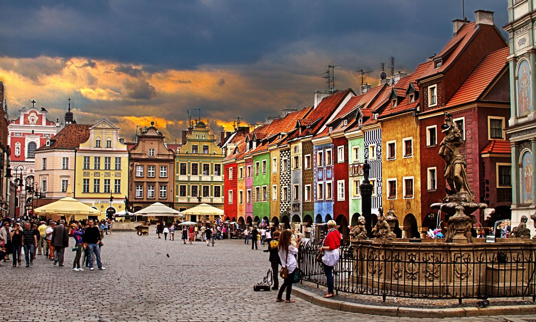 Vechea Piață din Poznan