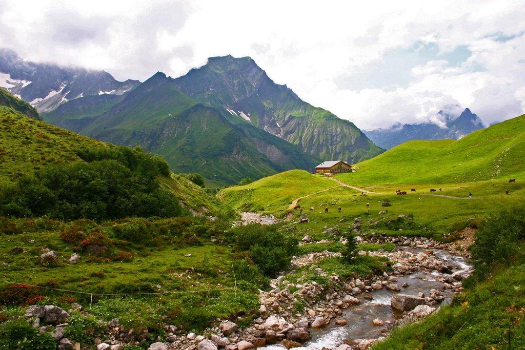 Vorarlberg, primăvara