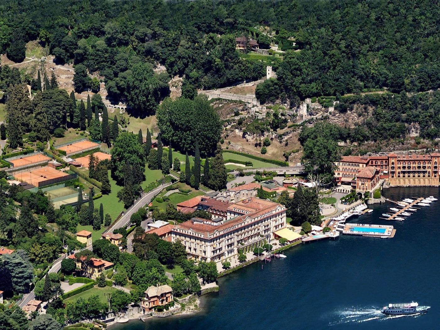 Zborurile peste Lacul Como operă priveliști uimitoare