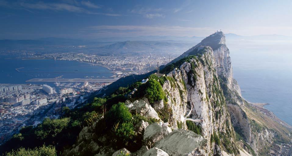 Zona cea mai înaltă a Rocii din Gibraltar