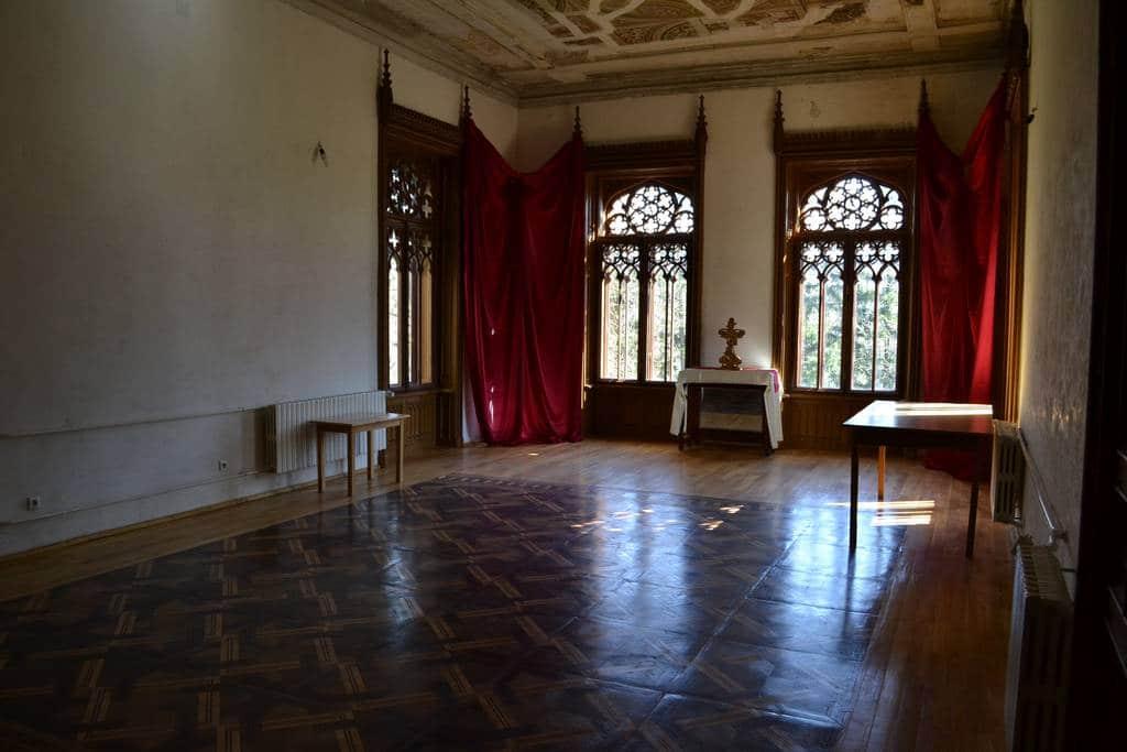 Masarda Castelului Sturdza era un loc secret de întâlnire al partidelor pe timpul comunismului