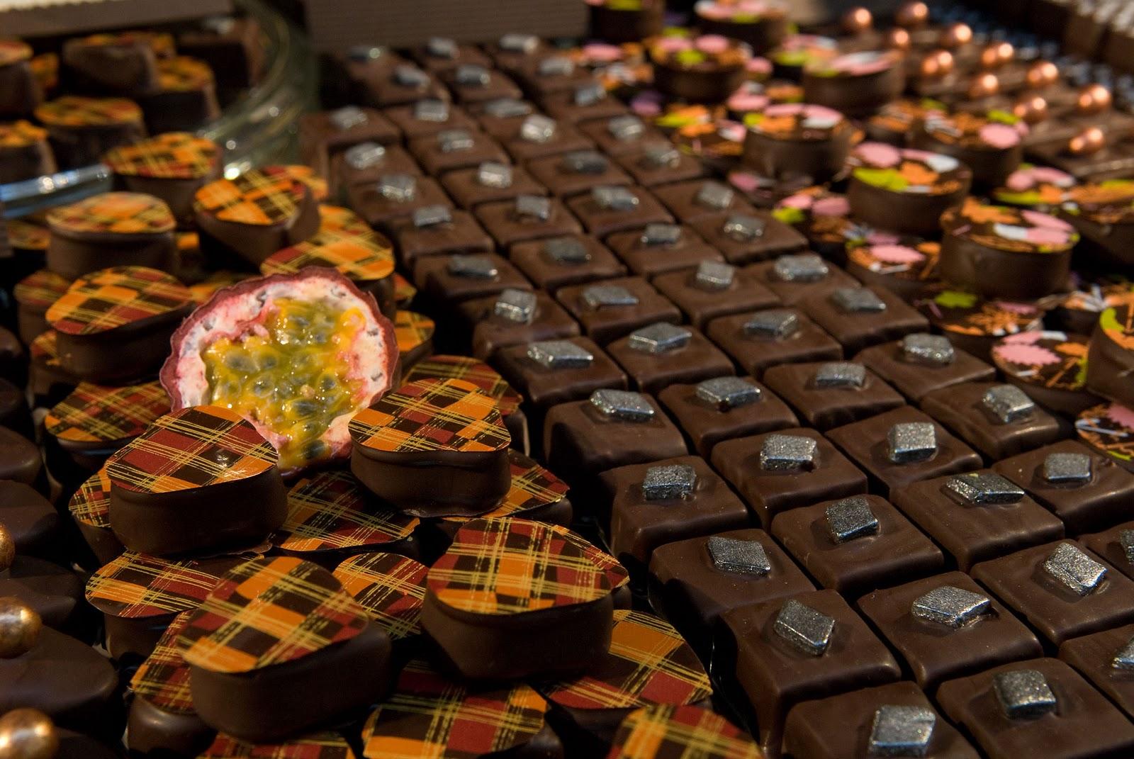 Magazin de ciocolată din Stockholm