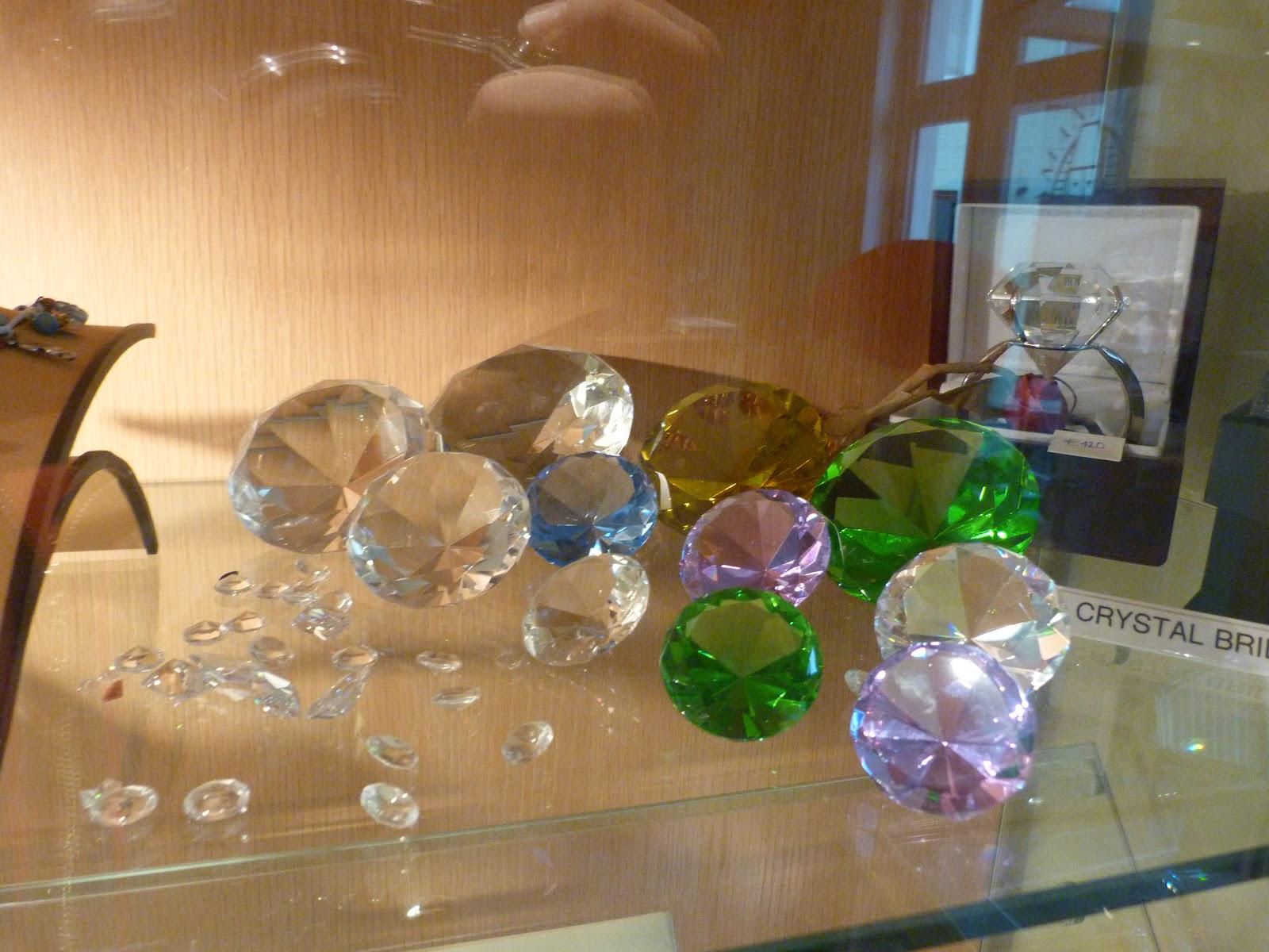 Diamante reale din cadrul Muzeului de Diamante din Bruges