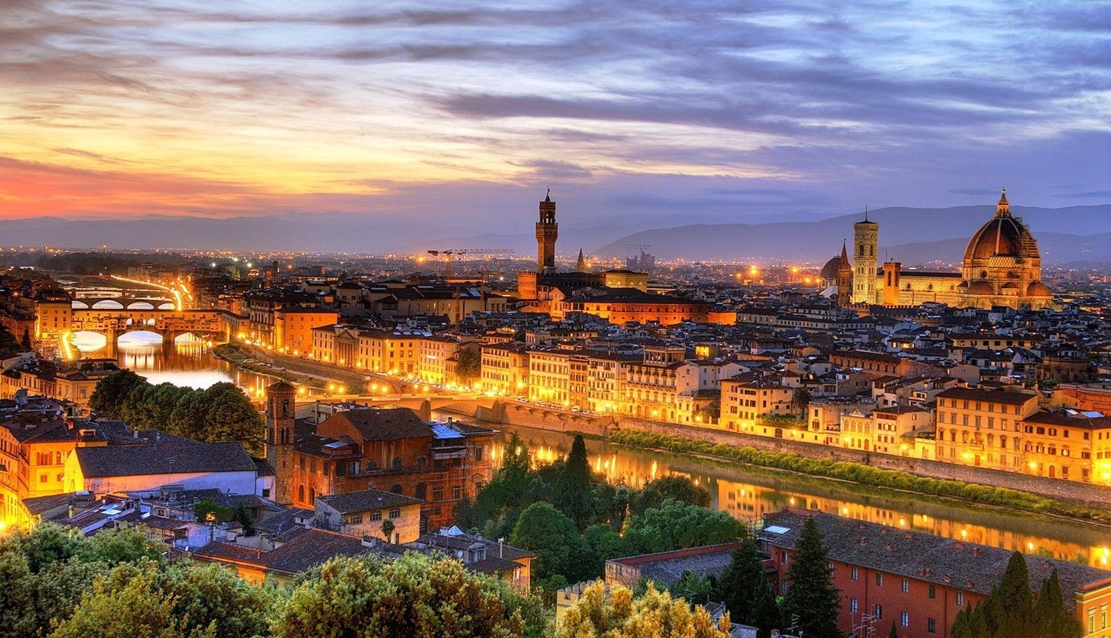Florența, unul dintre cele mai frumoase orașe din lume
