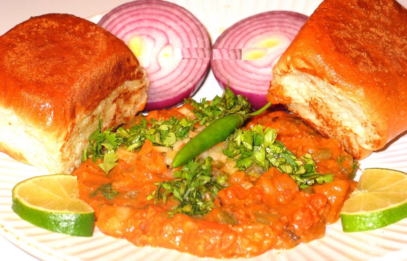 Pav Bhaji - un fel de mâncare tradițional, din legume și ierburi aromate