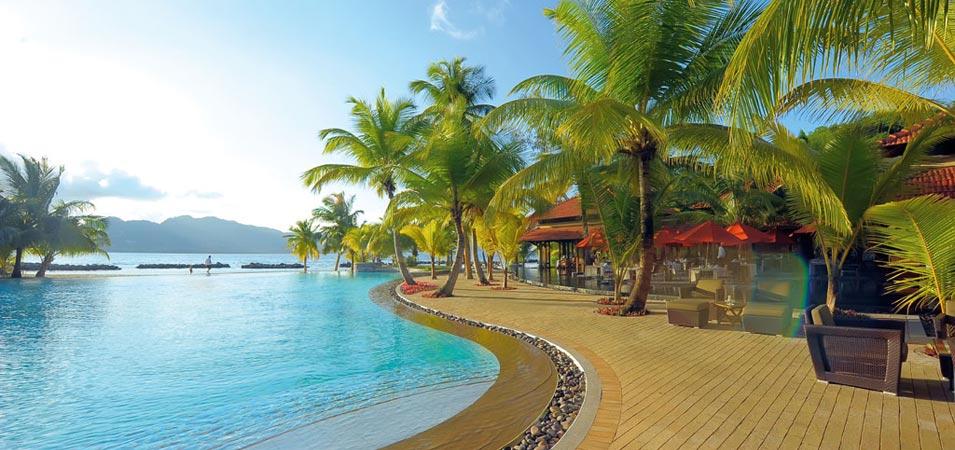 Hotel din Resortul Saint Anne, Insulele Seychelles