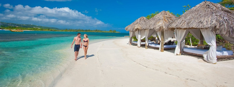 Plajă exclusivistă din Jamaica