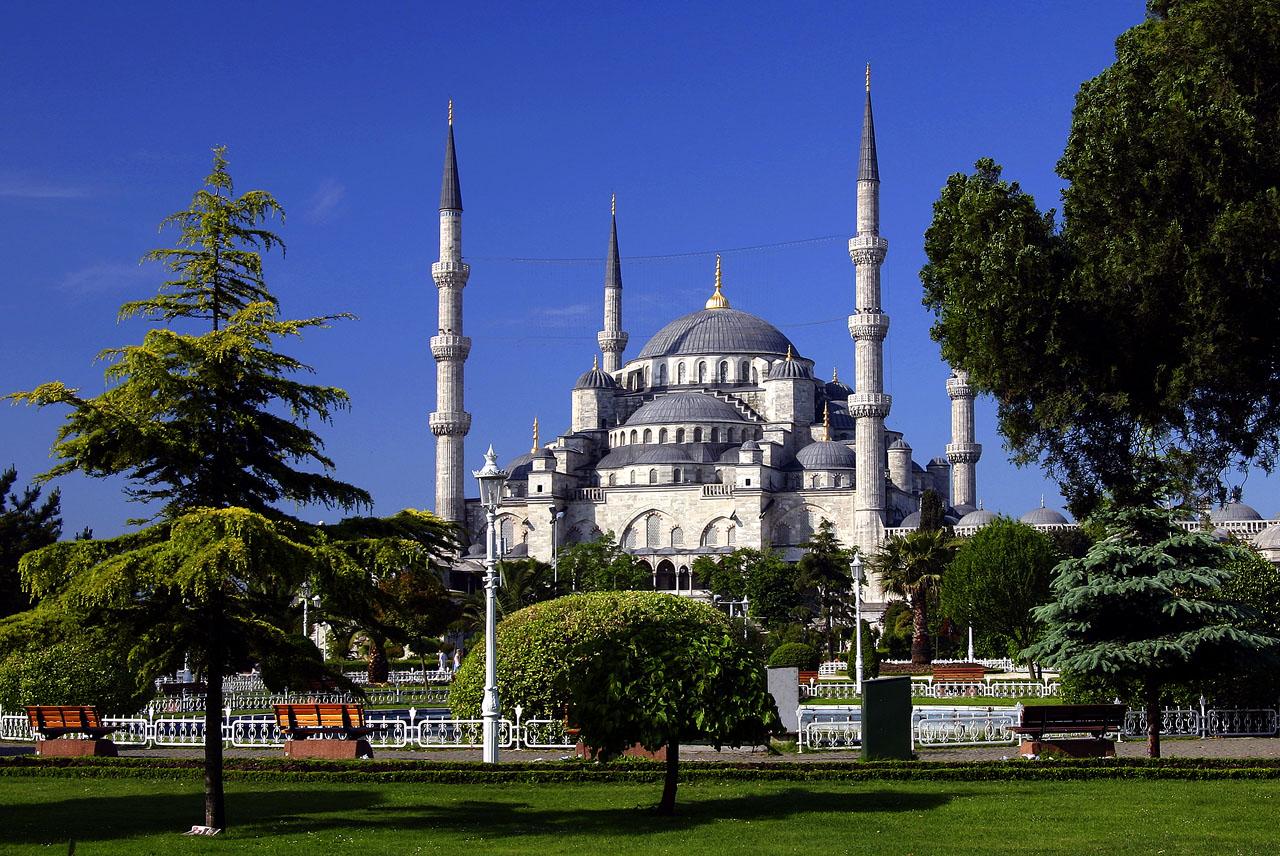 Moscheea Albastră, oraşul Istanbul