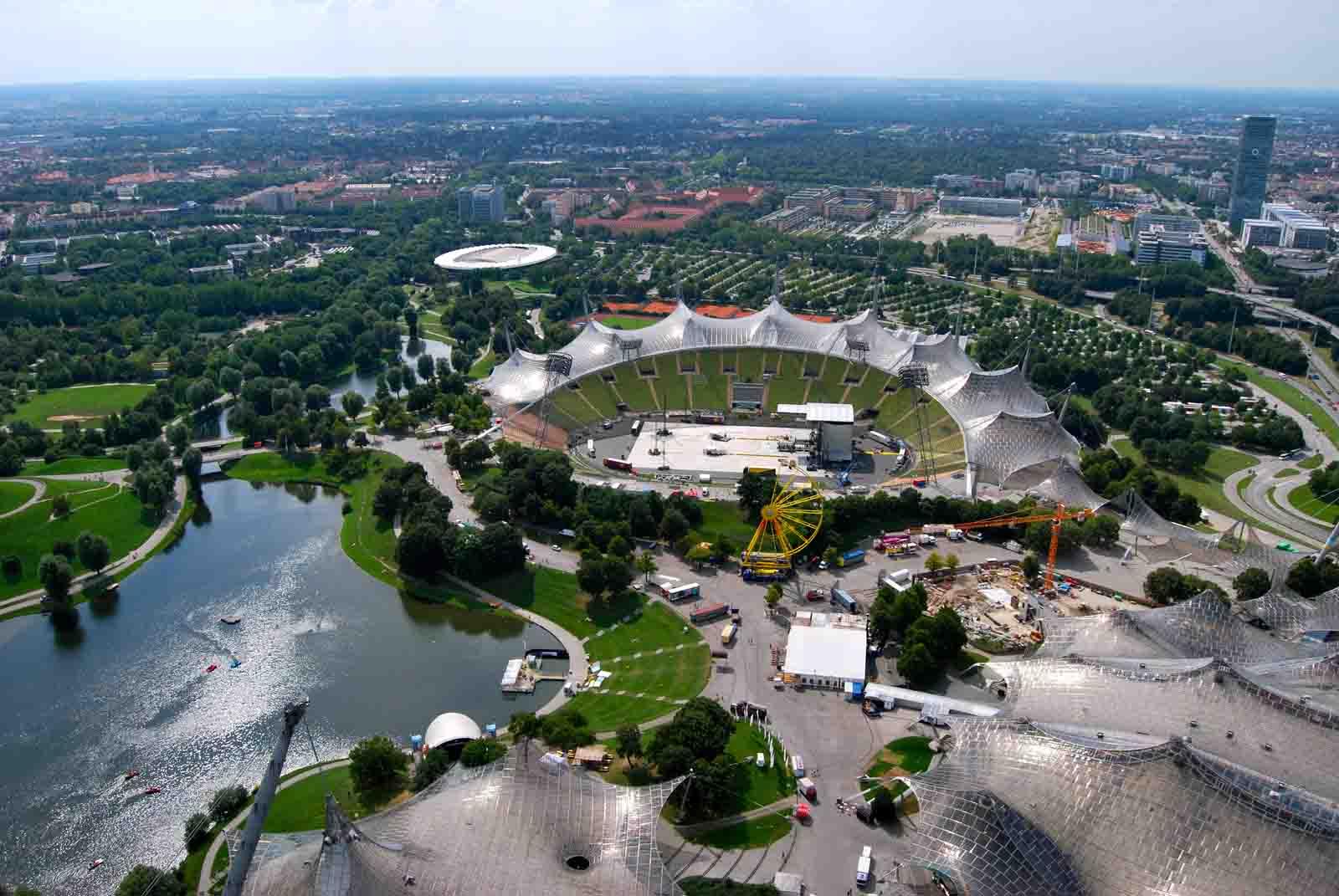 Olympiapark din Munchen