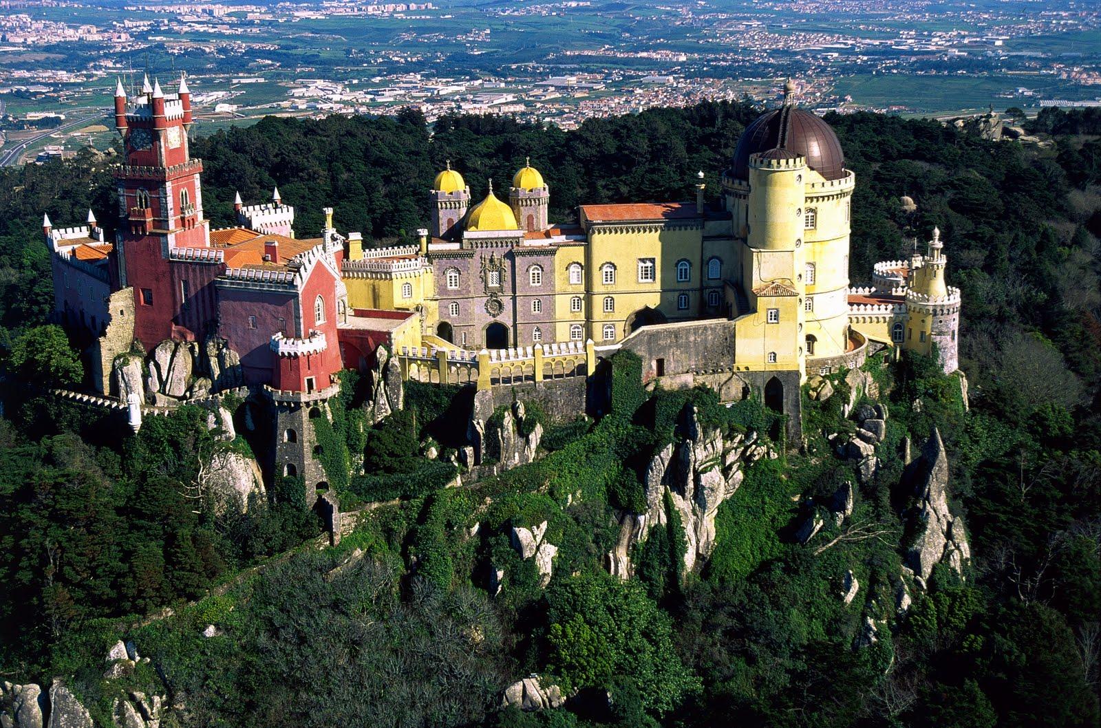 Palácio Nacional da Pena - una dintre cele Șapte minuni al Portugaliei