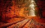 Calea ferată abandonată, Lebanon , Missouri, SUA