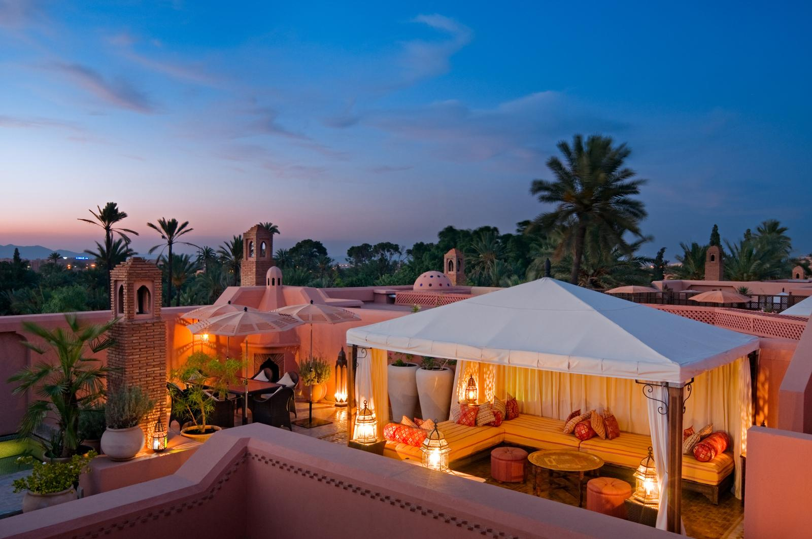 Hotelul Royal Mansour, Marrakech, Maroc