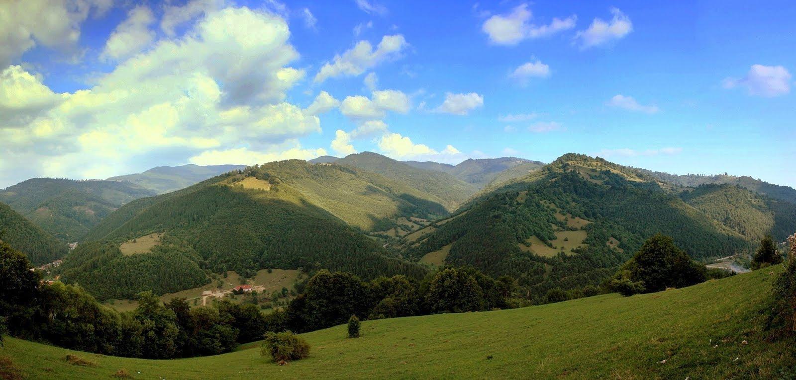 Zona Bran - Moeciu, o privelişte autentic românească