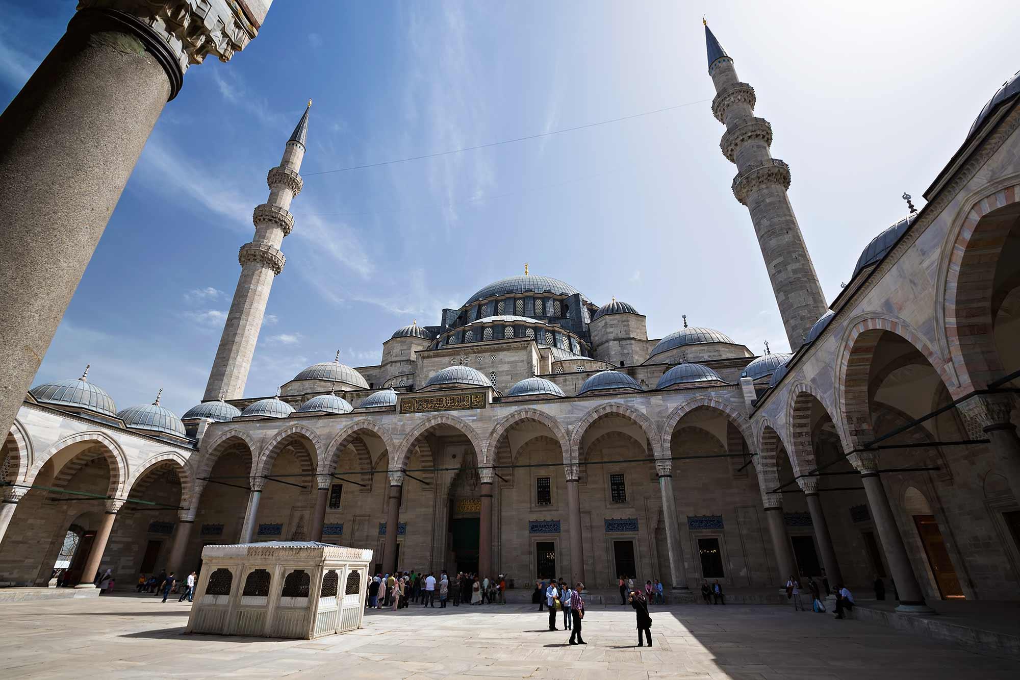 Curtea Moscheii lui Suleiman