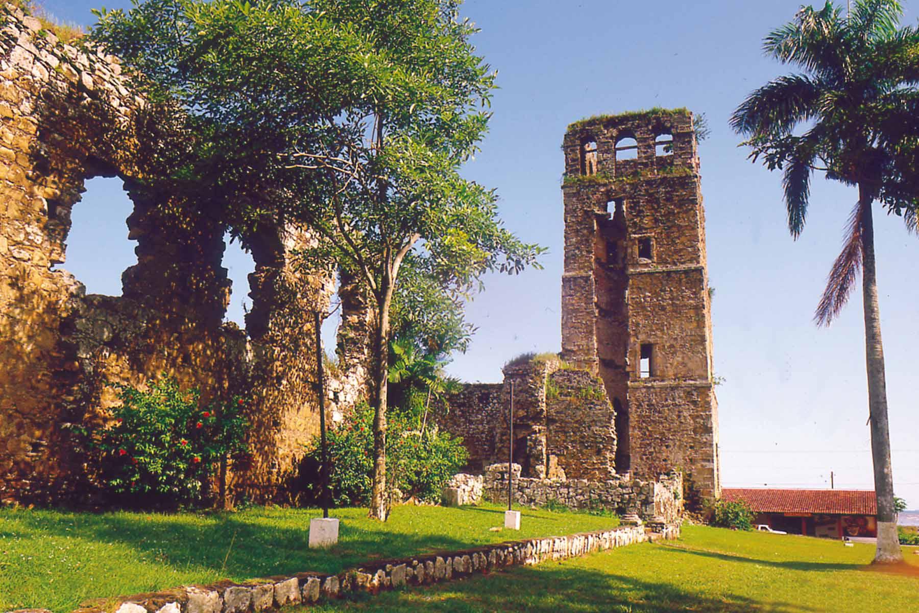 Ruinele orașului Panama Viejo