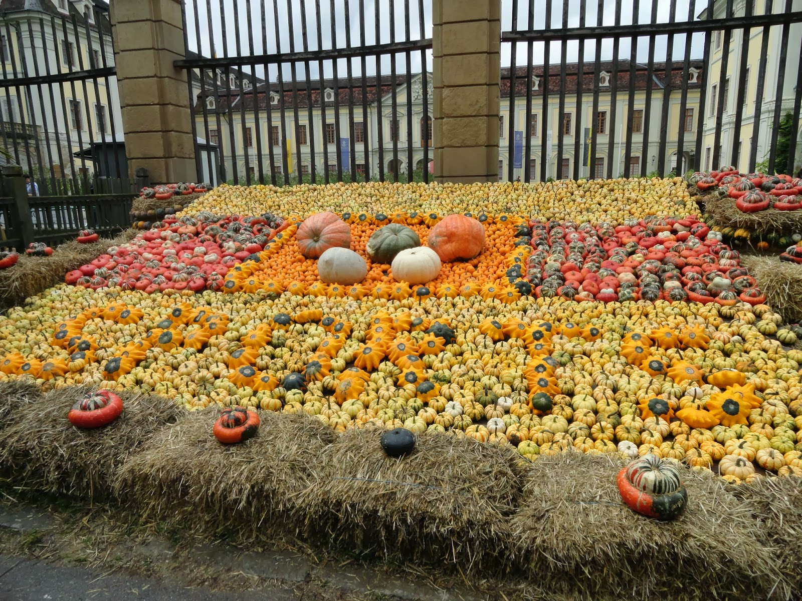 În fiecare an, la Palatul Ludwigsburg are loc Festivalul Toamnei