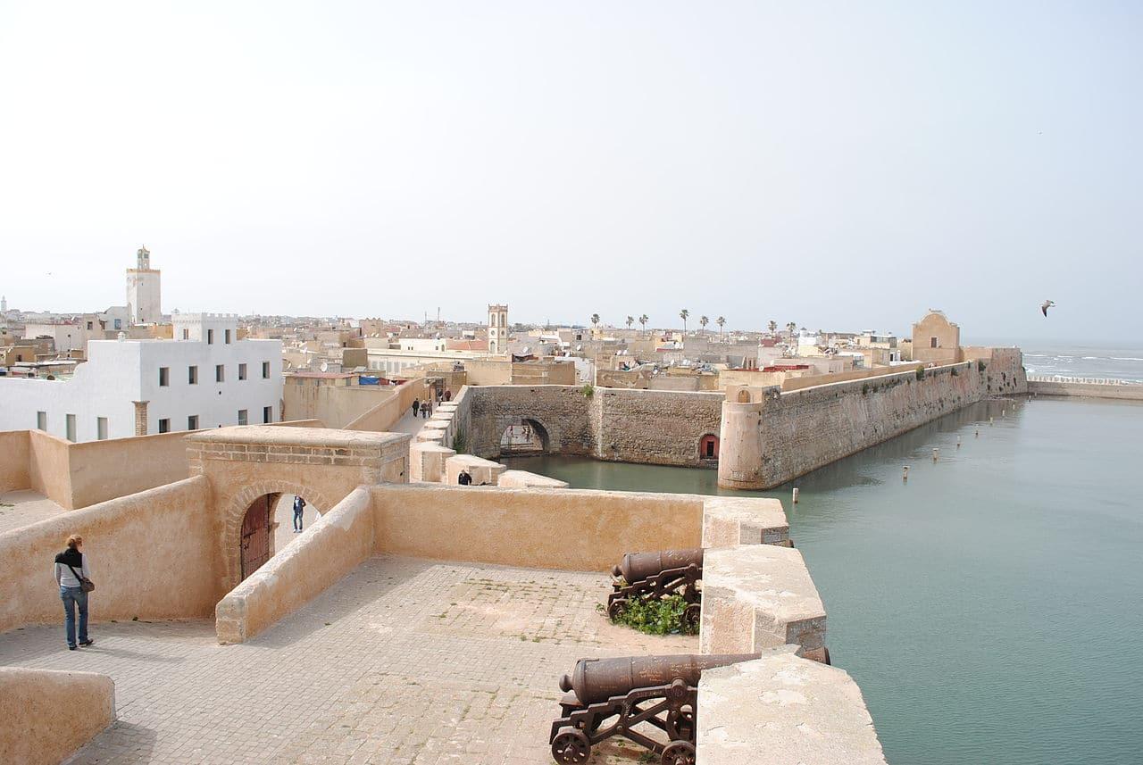 Superbul oraș portughez El Jadida ou Mazagon situat în apropierea orașului Casablanca