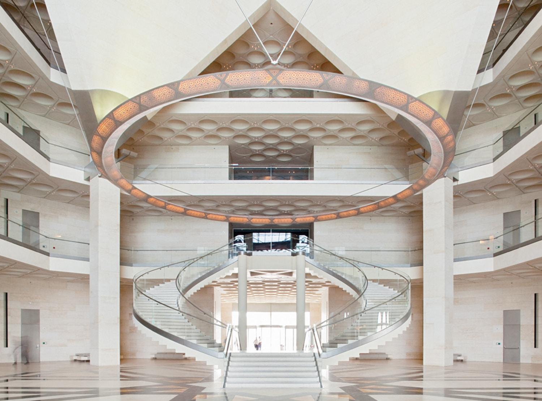 Muzeul a fost proiectat de celebrul arhitect IM Pei  - cel care a proiectat și piramida de la Louvre