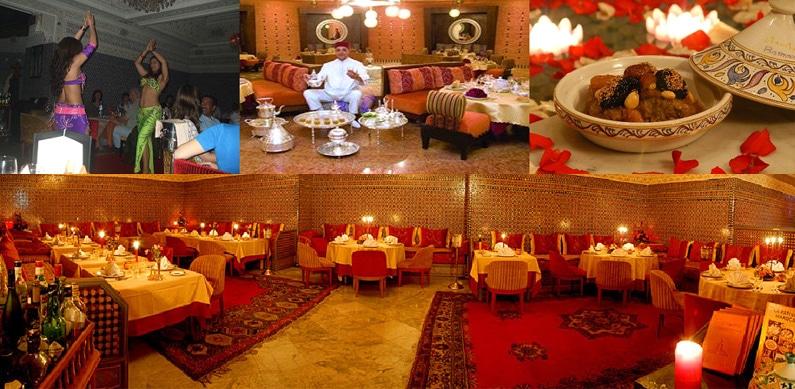 Decoruri deosebite ale restaurantelor din Casablanca