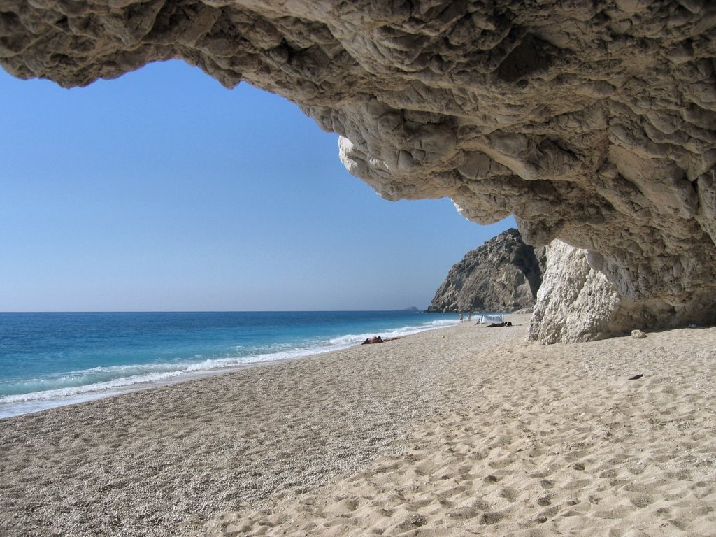 Plaja Egremni din Lefkada - Un mic paradis