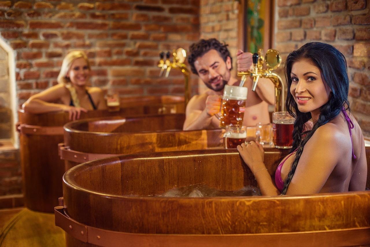 Răsfăț la Spa-ul cu bere din Praga
