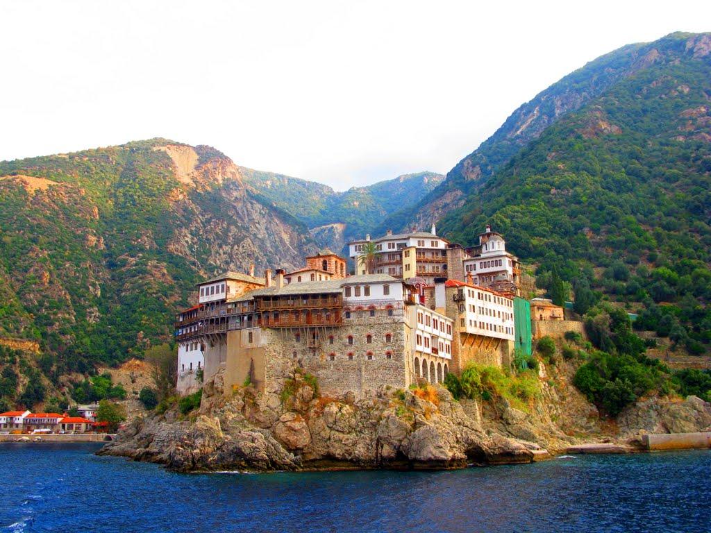 Athos, Muntele Sfânt