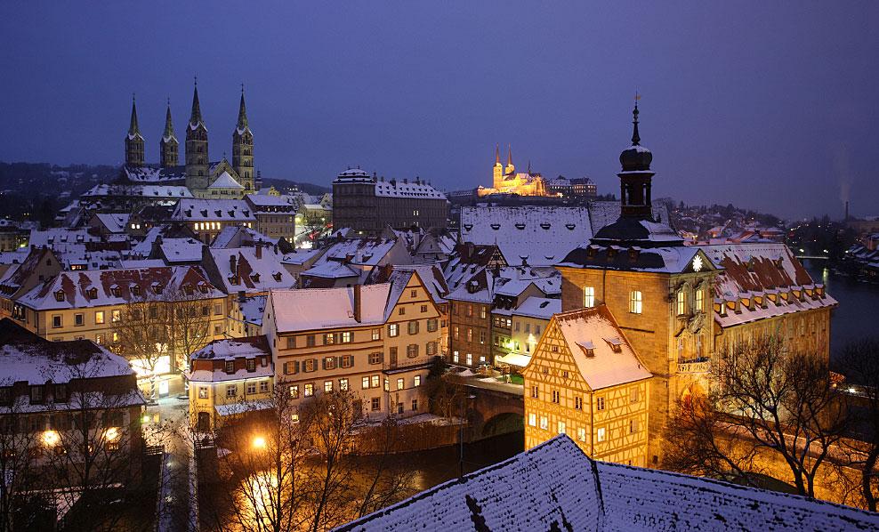 Bamberg, iarna