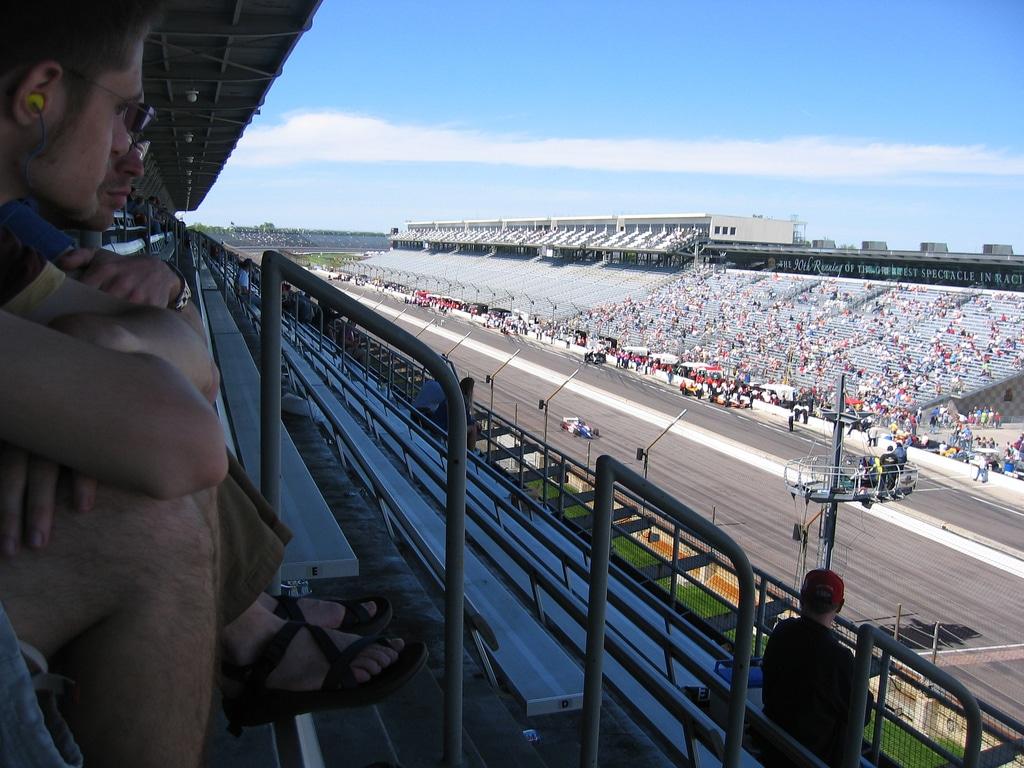 Calificările pentru una din cursele de pe circuitul din Indianapolis