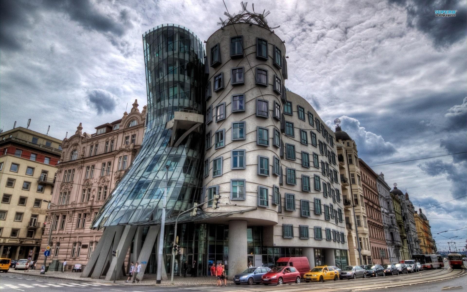 Casa care dansează - un exemplu de arhitectură modernă din Praga