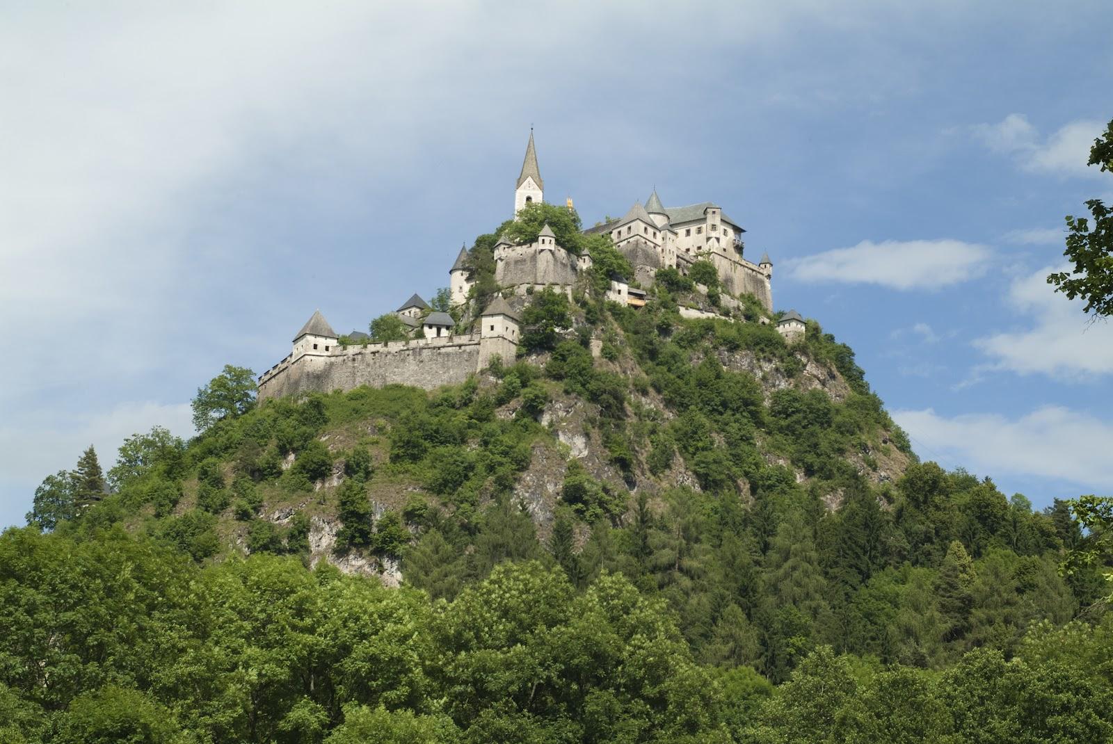 Castelul Hochosterwitz, Austria