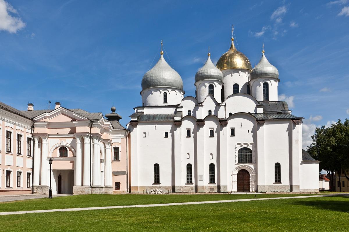 Catedrala Sfânta Sophia, Novgorod, Rusia