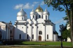 Catedrala Sfânta Sophia este deja un punct de reper în Novgorod