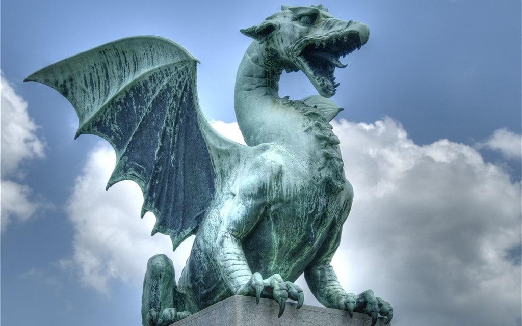 Dragonul, simbolul orașului Ljubljana
