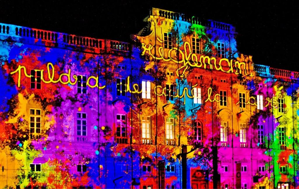 Festivalul luminilor din Lyon, un prilej extraordinar pentru artiști din toată lumea ca să se întreacă în măiestrie și culori
