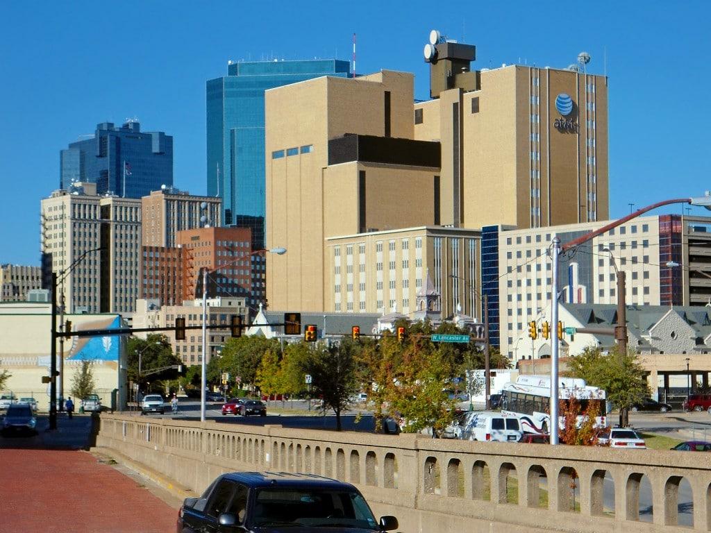 Fort Worth și una dintre cele mai cunoscute clădiri din oraș