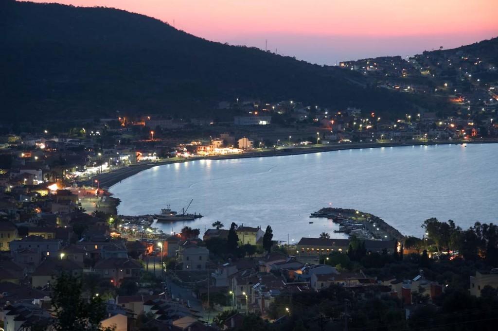 Golful din Izmir la apus