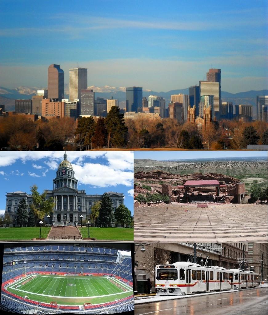 Imagini emblematice pentru Denver